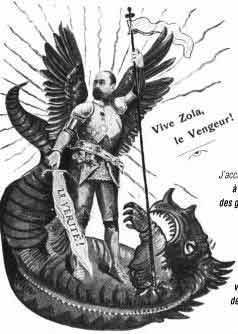 caricature sur zola et l affaire dreyfus